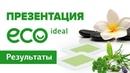 Валерий Цюцюра Презентация Eco Ideal Результаты