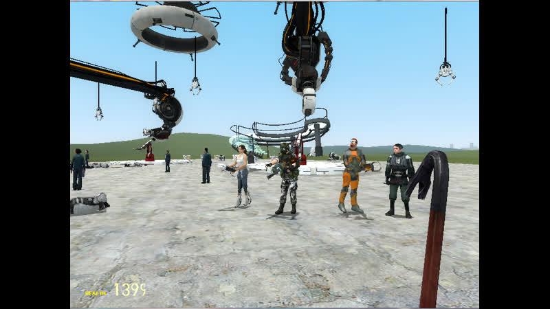 Военные HECU, Aperture природа порталов и Черный Мез Black Mesa