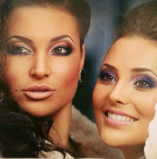 Вечерний макияж на дискотеку