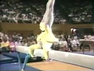 Пол Хант. Гимнаст-пародист (1988)