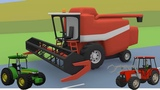 #Tractors, Farm Machinery, Excavators, Bulldozer | Street Vehicles for Children | Video For kid
