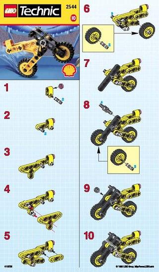 Инструкция LEGO Technic 2544