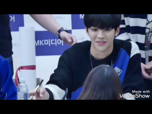 [ SF9 ] Rowoon Taeyang Sweet Moment with Fans During Fansign