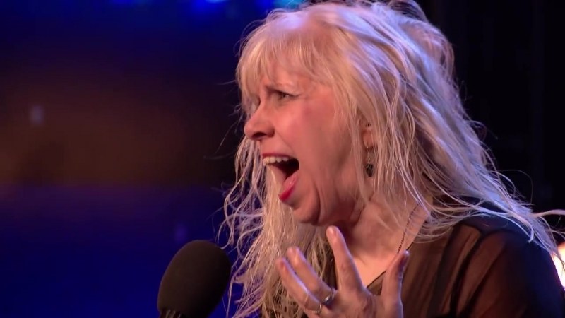 ROCK SHOCK! Get your air guitars out for Jenny Darren! _ Auditions _ BGT 2018