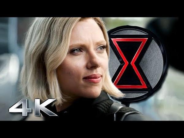 BLACK WIDOW 4K Teaser Trailer | Scarlett Johansson, Jeremy Renner