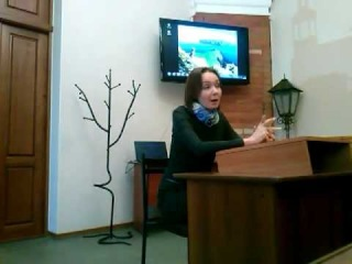 Эвелина Закамская на факультете журналистики ТГУ