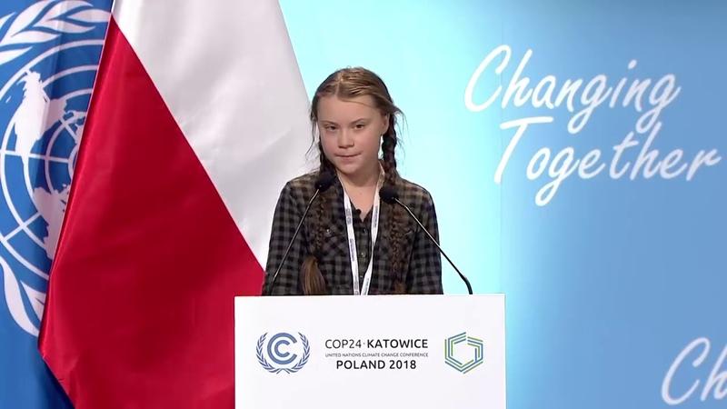 Greta Thunbergin BMde COP24 İklim Değişikliği Konferansında Tam Konuşması (Türkçe Altyazı)