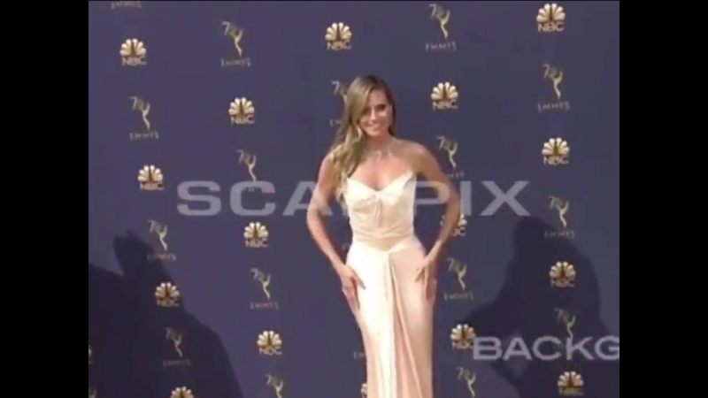 New video of Tom Heidi 17.09.2018, 70th Primetime Emmy Awards, Arrivals, Los Angeles, USA