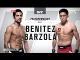 UFC-211 Габриэль Бенитез vs Энрике Барзола обзор боя