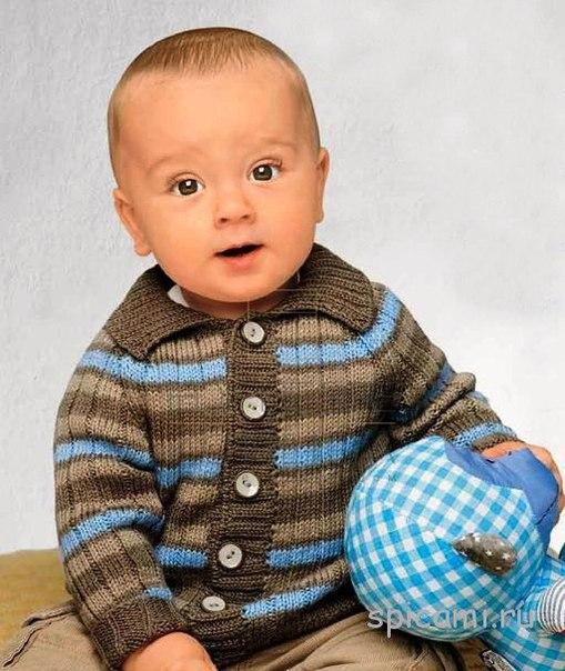 Кофточка для мальчика (2 фото)