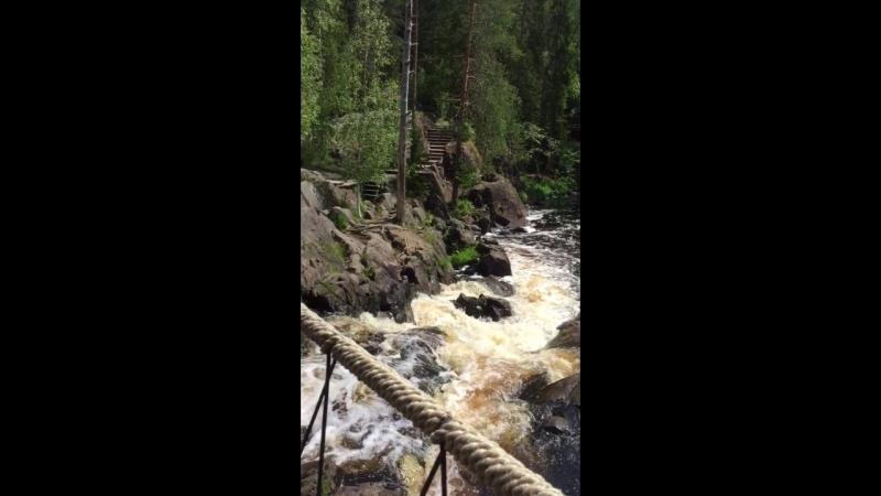 Водопады в Карелии