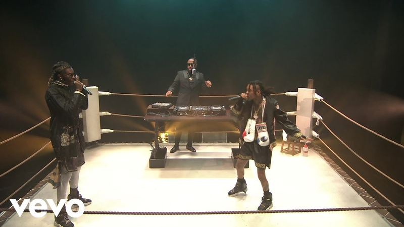 Mike WiLL Made-It, Feat.Swae Lee Young Thug - Fate (Live On The Tonight Show Starring Jimmy Fallon/2018)