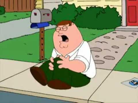 Питер Гриффин ударился ногой
