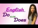 №15 ШИ. Урок DO или DOES/ Present Simple/ Английского языка. Полиглот Ирина Шипилова