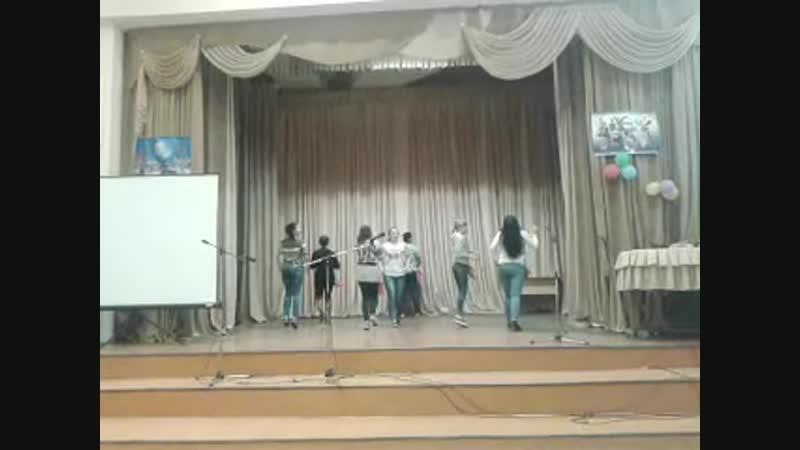 Танец Студенческого Совета Хореография Вячеслава Логинова