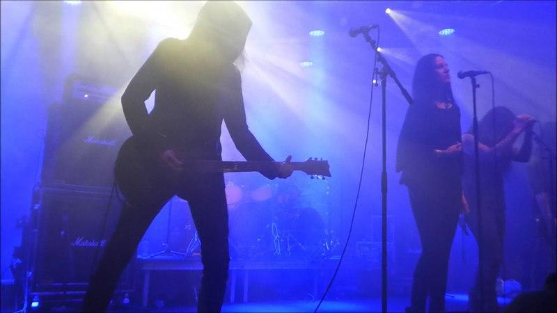 Hallatar feat Heike Langhans My Mistake Live at Stockholm Slaughter Sweden 27 04 2018