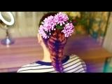 Коса без плетения! Легкая Прическа В Школу / на Работу.