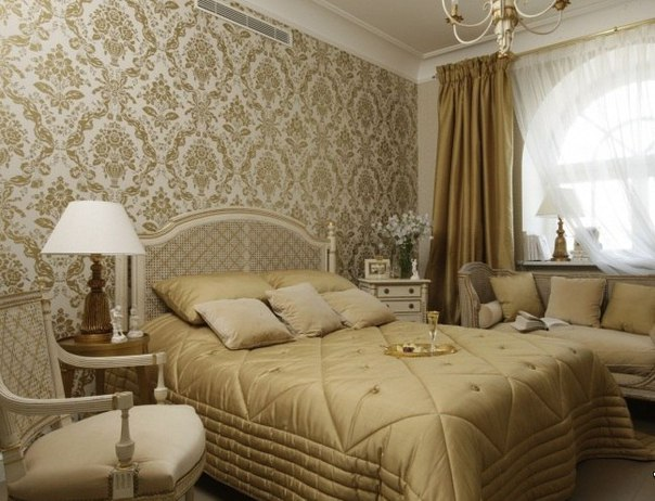 Стильная спальня (1 фото)