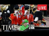 Trooping The Colour Parade To Mark The Queen's Official Birthday &amp Other Celebrations LIVE TIME
