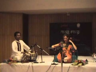 """Saskia Rao-de Haas (Indian Cello) """"Miyan ki Malhar"""" - Part - 2"""