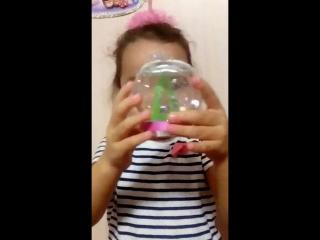 Карина и ее волшебный шар!