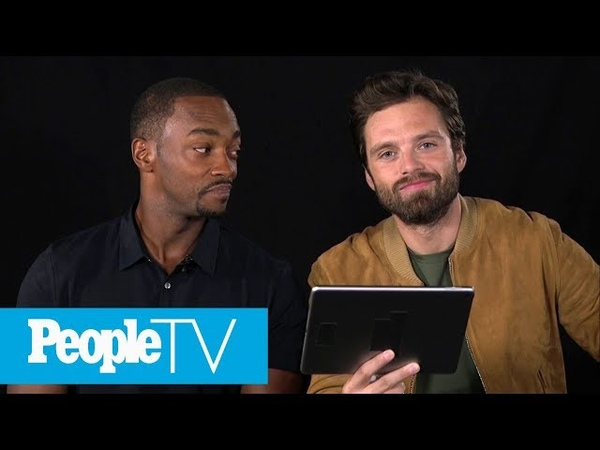 Kids Interview 'Avengers: Infinity War' Stars Sebastian Stan Anthony Mackie | PeopleTV