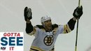 GOTTA SEE IT: Bruins' Zdeno Chara Picks His Spot To Score Career-Goal No. 200