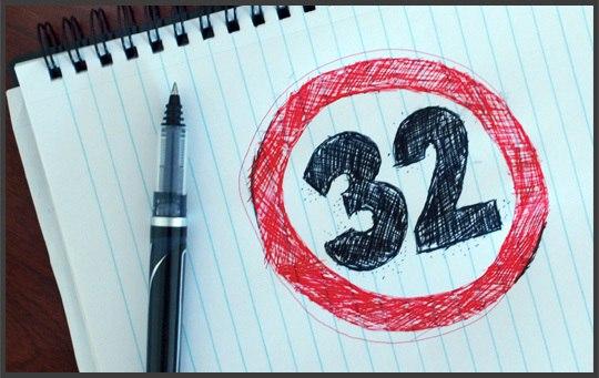32 вывода к 32 годам