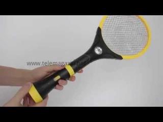 Электрическая мухобойка Скат 3 с фонариком купить в интернет магазине Телемагазин
