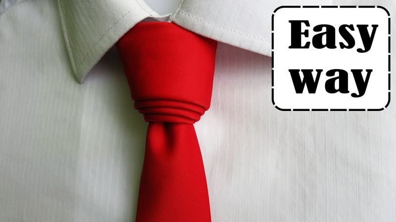 How to tie a tie - Cylinder necktie knot tutorial