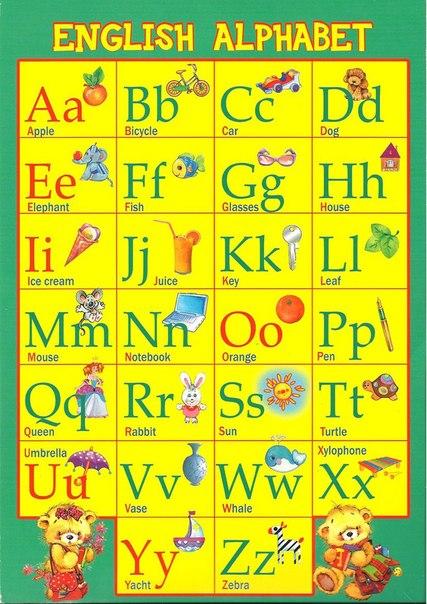Как сделать книгу английский алфавит для 2 класса 66