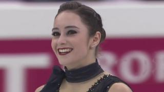 Кэйтлин Осмонд КП 2017 Финал Гран При Нагоя