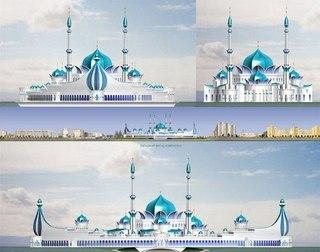 Комплекс новой соборной мечети, согласно плану застройки города, должен будет расположиться на проспекте Победы...