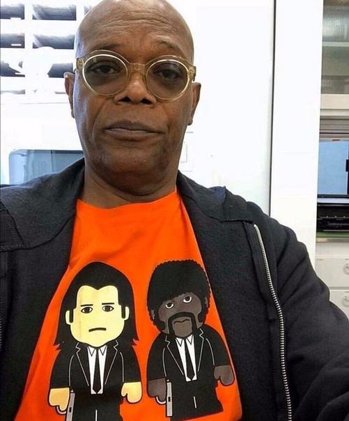 Сэмюэл Л. Джексон носит только крутые футболки