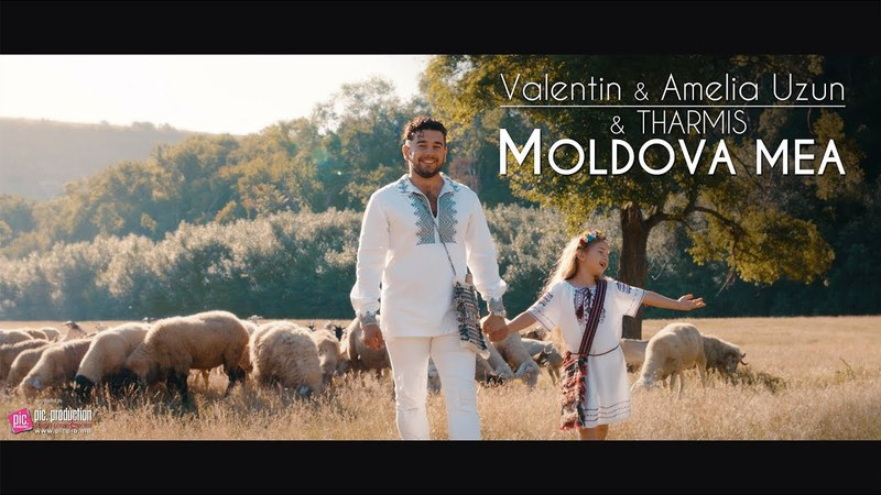 Amelia Valentin Uzun Tharmis - Moldova Mea (Oficial Video)