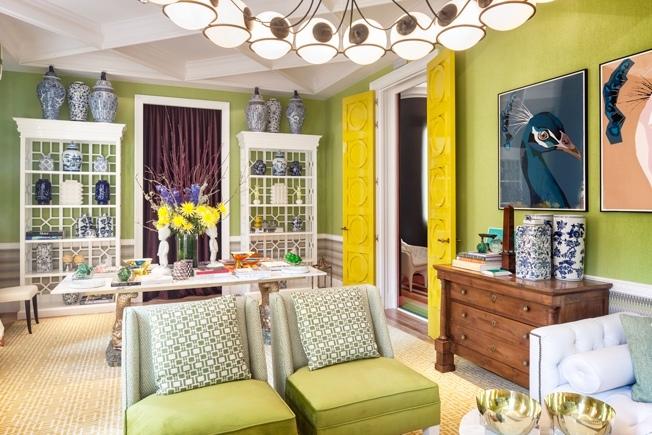 Гостиная Жана Порше: цвет и эмоции