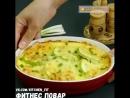 Запеченные кабачки с сыром Фитнес Повар