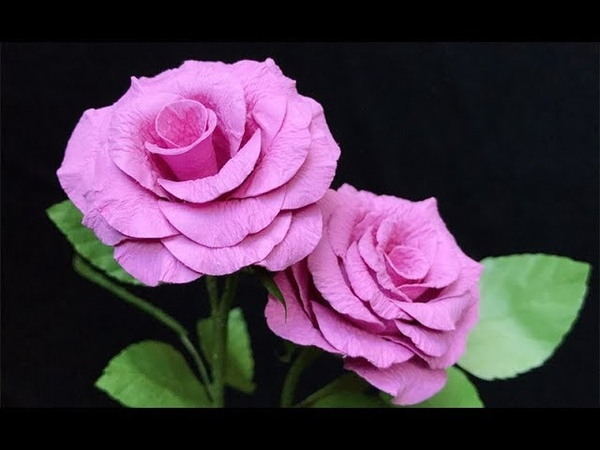 ABC TV | How To Make Rose Paper Flower With Shape Punch 5 - Craft Tutorial