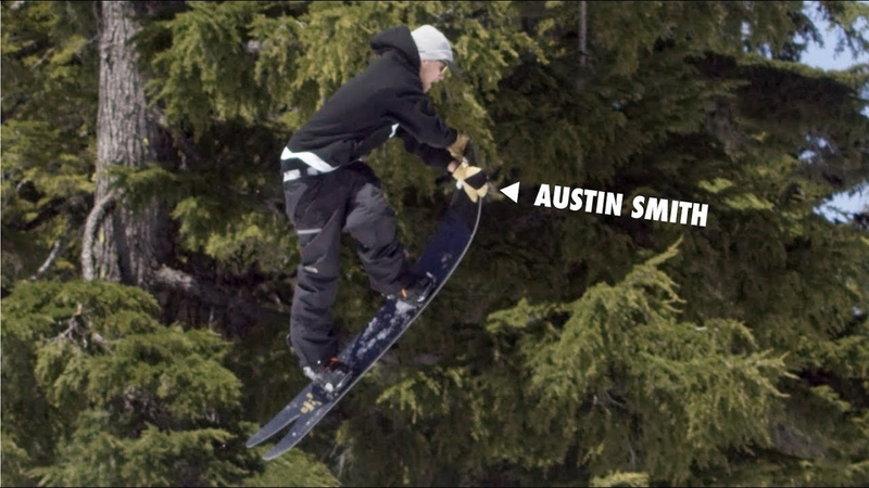 How to do a Crossrocket Grab with Austin Smith | TransWorld SNOWboarding Grab Directory