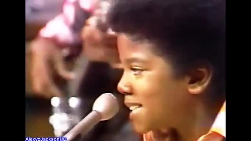Michael Jackson American Bandstand 1970