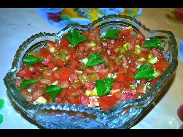 Салат с копченой рыбой Балтийский/Salad with smoked fish.