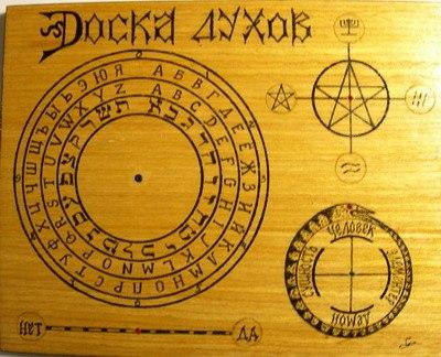 Как сделать круг для спиритического сеанса