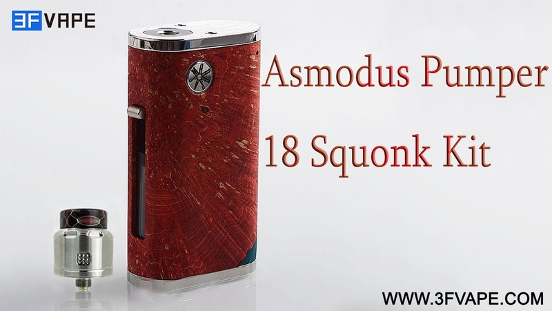 Asmodus Pumper 18 Squonk Kit