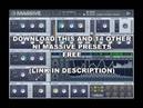 Hard Pitching Electro/Dubstep Bass - NI Massive Preset FREE DOWNLOAD
