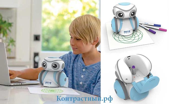 Artie 3000 - детский робот для рисования и программирования