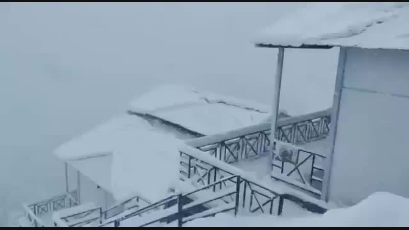 Auli under thick blanket of snow Video by Vikas Chauhan uttarakhand snow 352 X 640 mp4