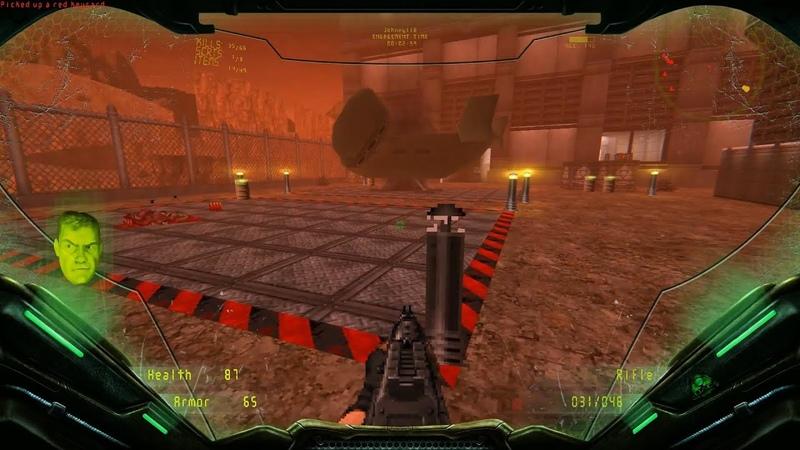 Brutal DOOM v21 Extermination Day Latest Build Level 1 [100 secrets]
