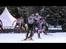 Лыжные гонки Тур де Ски Женщины. Гонка преследования. Свободный стиль.