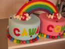 Тортик для двойняшек