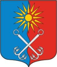 Файл:Coat of Arms of Otradnoe (Leningrad oblast).png - Википедия
